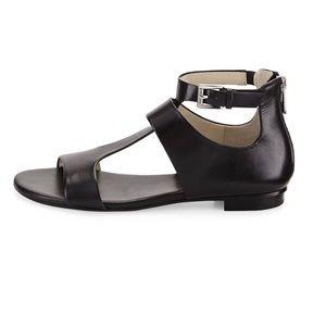 MICHAEL Michael Kors Pamela T-Strap Flat Sandal